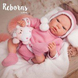Arias Dolls Reborns 40 cm Elina w/ Blanket and Teddy - 98037