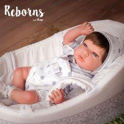Arias Dolls Reborns 40 cm Sofia with Carrycot - 98034