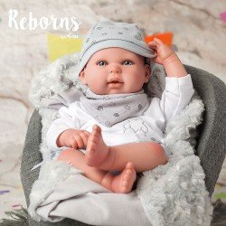 Arias Dolls Reborns 45 cm Alejandro with Blanket - 98040