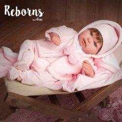 Arias Dolls Reborns 45 cm Blanca with Blanket - 98031