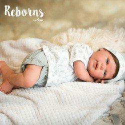 Arias Dolls Reborns 45 cm Borja with Blanket - 98023