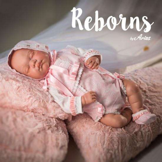 Muñeca Arias Reborns Irene 45 cm - 98003