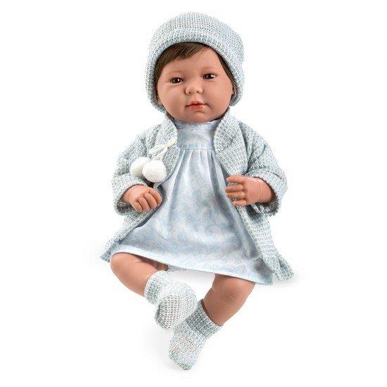 Arias Doll Elegance 45 cm Lois Blue Dress
