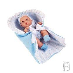 Arias Dolls Elegance PB 33 cm Natal Blue Blanket - 50148