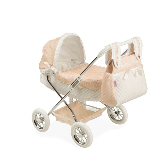 Arias Dolls Classic Paris Hood + Pocket Stroller 55 cm - 40422