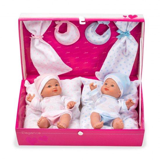 Arias Dolls Elegance 26 cm Twin Pack - 60224