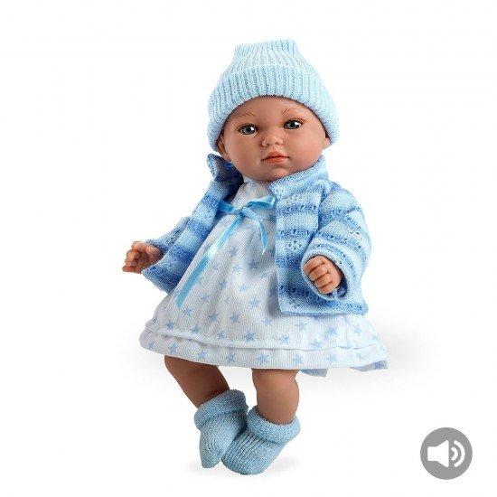 Arias Dolls Elegance 28 cm Andrea Blue with sound - 60189