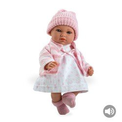 Arias Dolls Elegance 28 cm Andrea Pink with sound - 60188