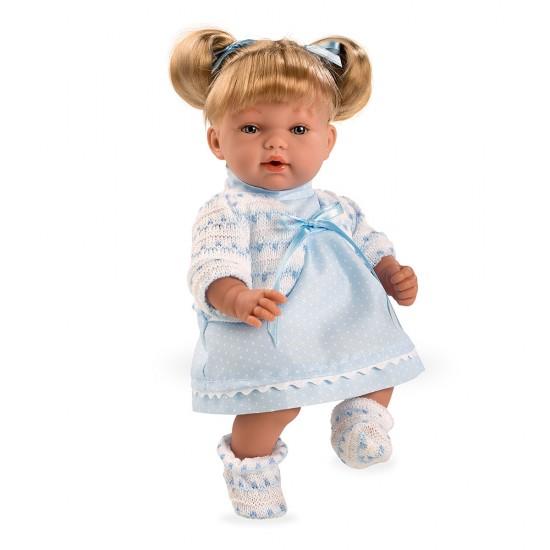 Arias Dolls Elegance 28 cm Blue Hanne - 60127