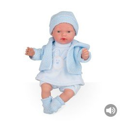 Arias Dolls Elegance 28 cm Blue Hanne with Sounds (Box) - 60245