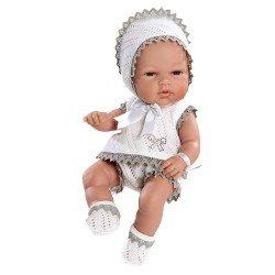 Arias Dolls Elegance 33 cm Natal Grey Swarovski Elements - 90104