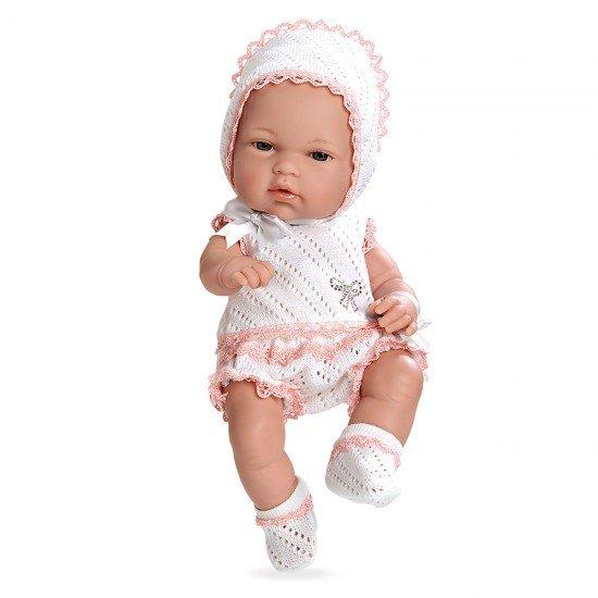 Arias Dolls Elegance 33 cm Natal Pink Swarovski Elements - 90102