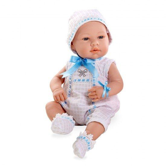 Arias Dolls Elegance 42 cm Real Baby Blue Swarovski Elements - 95010