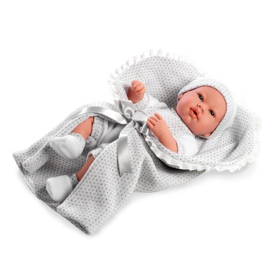Arias Dolls Elegance 42 cm Real Baby Grey - 65138