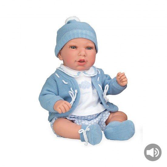 Muñecas Arias Elegance 45 cm Lia Azul con Sonido - 65241