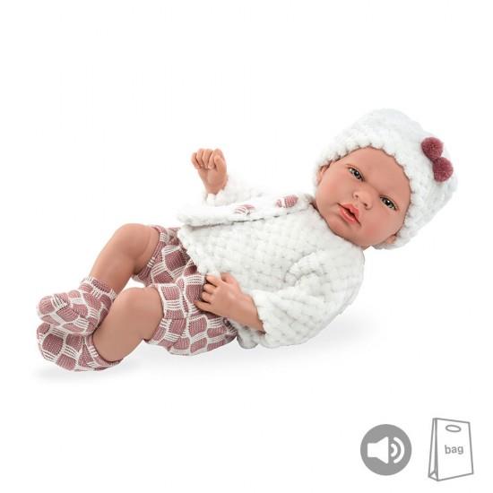 Arias Dolls Elegance PB 40 cm Pink Andie w/ Sound - 50235