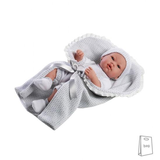 Arias Dolls Elegance PB 42 cm Real Baby Grey - 55138