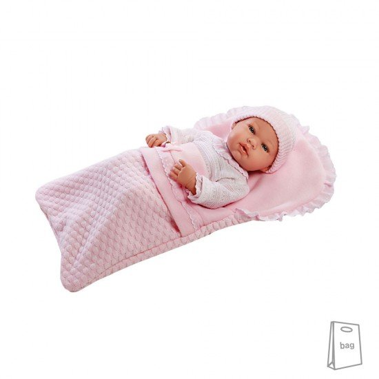 Arias Dolls Elegance PB 42 cm Real Baby Pink - 55137