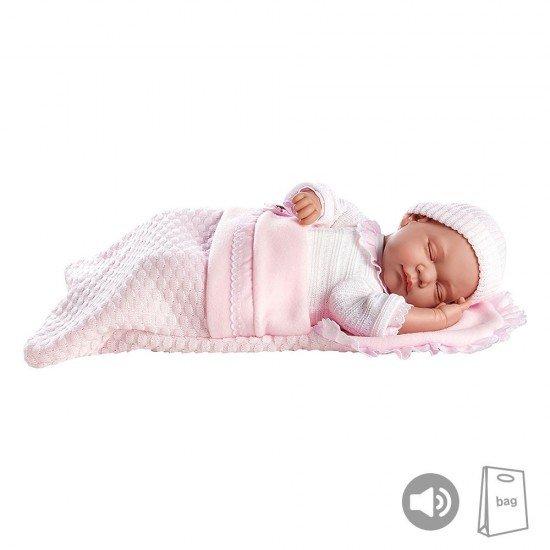 Arias Dolls Elegance PB 45 cm Leo Pink w/ Sound - 55158