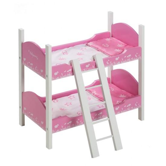 Arias Dolls Elegance Children Bed 55 cm with Ladder - 21537