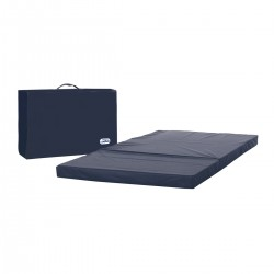 Asalvo Mattress for Travel Cot Blue Bag