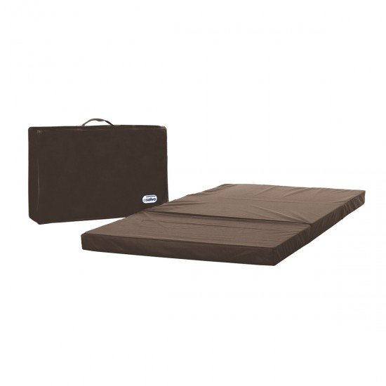 Asalvo Mattress for Travel Cot Chocolate Bag
