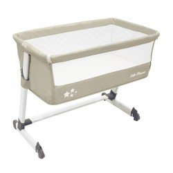Asalvo Bed Side Crib Beige