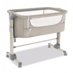 Asalvo Mini Cot Bed Fold Beige