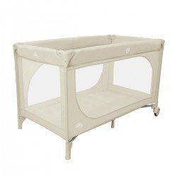 Asalvo Essential Travel Cot Beige
