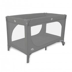 Asalvo Essential Travel Crib Grey