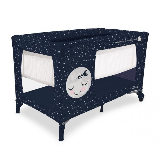 Asalvo Travel Cot Smooth Moon