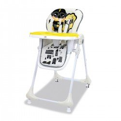 Highchair Asalvo Chef Captain Light Grey