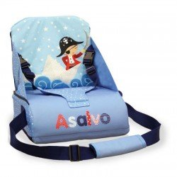 Asalvo Go Anywhere Pirate Design Booster Seat