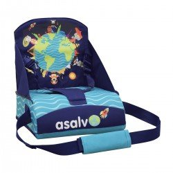 Asalvo Go Anywhere Animals of The Word Booster Seat