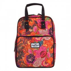 CoolPack Cubic Backpack Vintage Flower Explosion