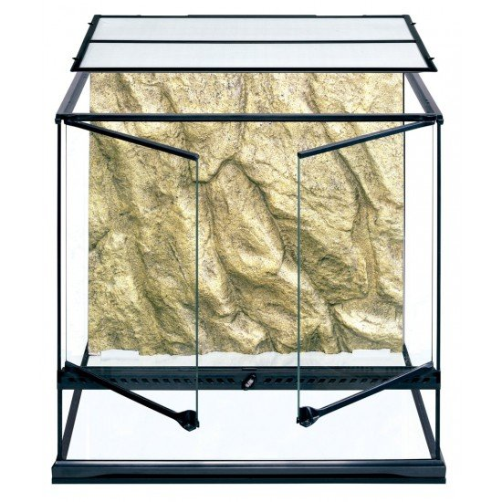 Exo Terra Glass Natural Terrarium, Medium/Tall, 60 x 45 x 60 cm