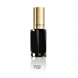 Laca de uñas L'Oréal Color Riche Le Vernis - 702 Black Swan (5ml)