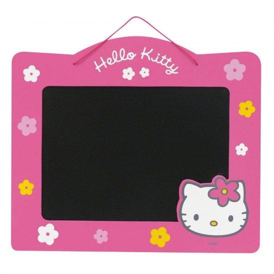 Pizarra Hello Kitty de doble cara