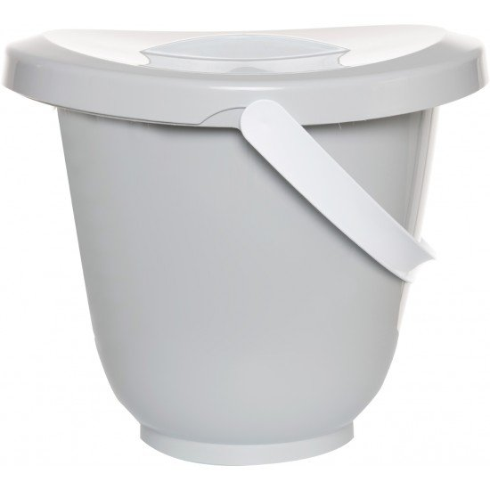 Luma Diaper Bucket Light Grey - LU162051