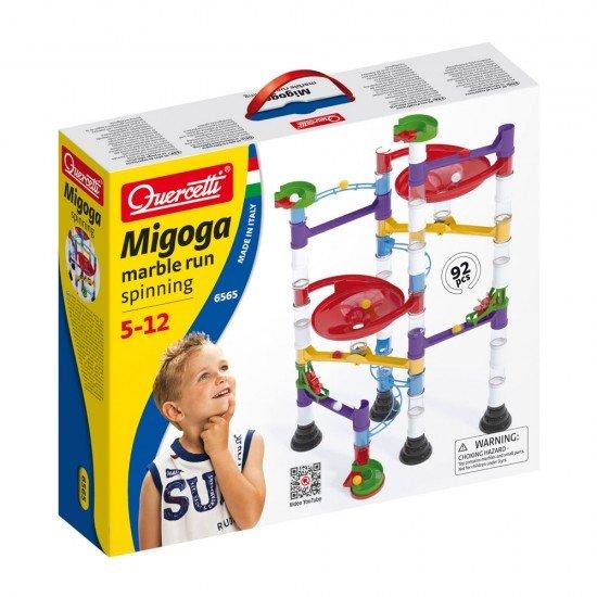 Quercetti Juego Migoga Spinning 92 piezas