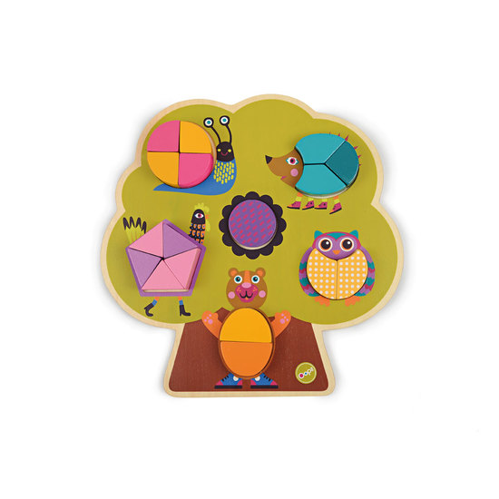 Oops Wooden Puzzle 17/20 pcs Forest