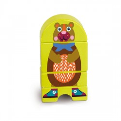 Oops Wooden Magnetic Puzzle Bear