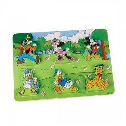 Puzzles Madeira 7 peças Disney