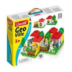 Quercetti Geo Village Tecno Puzzle 60 pieces