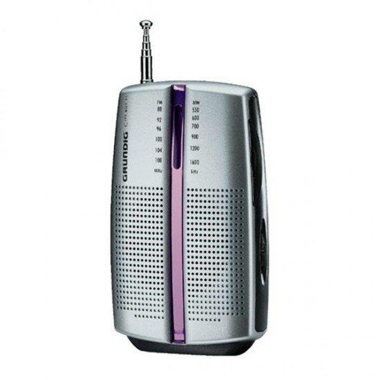 Grundig CITY BOY 31 - Radio personal - 0.1 vatios - plata