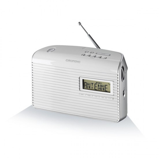 Transistor Radio Grundig MUSIC 61 FM White