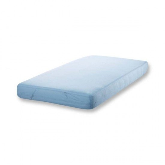 Aerosleep Fitted sheet 40x80 Sky blue