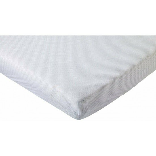 Aerosleep Fitted sheet 60x120 White