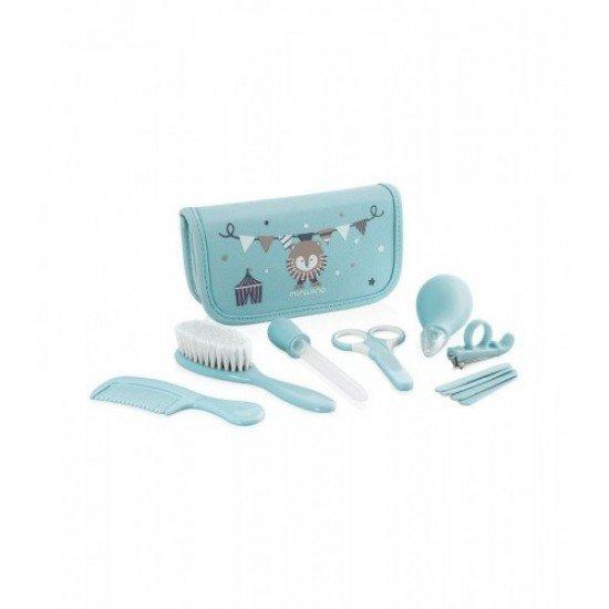 Estojo Cuidados Bebe Baby Kit Miniland Azul - 89143