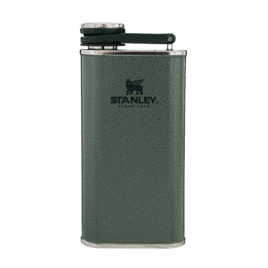 Stanley Classic Easy Fill Wide Mouth Flask 0,23L Hammertone Green